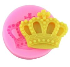Kings crown Silicone Mould for Sugar Craft, Fondant, Cake Decorating ,Baking etc