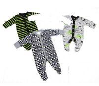 Ex Store Baby Boy Dinosaur Stripe Sleepsuits Babygrow x 1 Age  0 3 6 9 12 18 24