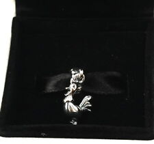 NEW Authentic Pandora Silver Rule The Roost Rooster Dangle Charm 791096