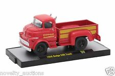 L132  32500 38 M2 MACHINES AUTO TRUCKS 1958 DODGE COE TRUCK  RED 1:64