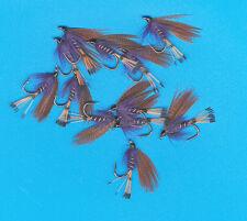 Mallard & Purple, 6 pcs. size 10