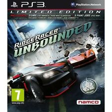 Ridge Racer Unbounded Limited Edition Sony PlayStation 3 PS3 Brand New SEALED