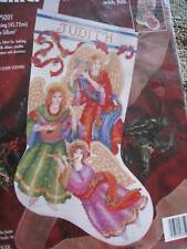 "Christmas Bucilla Counted Cross Stocking KIT,HEAVENLY RHAPSODY,Gillum,18"",83503"