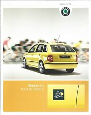 Auto Brochure - Skoda - Fabia - Tour De France c2006 - GERMAN Prospekt (A1245)