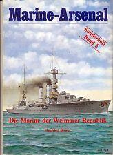 la marina nella repubblica di Weimar