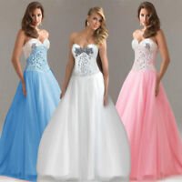 Women Formal Long Party Prom Cocktail Ball Gown Wedding Bridesmaid Evening Dress