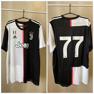 5+/5 Juventus 2019/2020 home Sz 2XL Adidas shirt jersey soccer football XXL kit