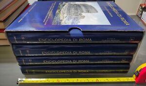 GG ENCICLOPEDIA DI ROMA - 4 VOLUMI - IL MESSAGGERO - CLAUDIO RENDINA - 2003