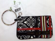 VERA BRADLEY BANGLE WRISTLET - BARCELONA  - LEATHER TRIM - NEW WITH TAG