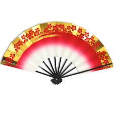 Japanese Odori Dance Hand Held Sensu Folding Fan Cherry Blossom/Made in Japan