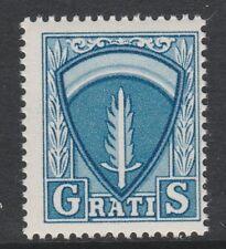 Germania AMG 3077-ALLIED MILITARY GOVERNMENT Permesso di viaggio GRATIS TIMBRO U / M