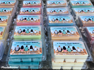 65 Scents- Soy Wax Melts- 100 % Natural - Eco-Friendly - Hand-Poured