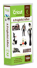 CRICUT *A FRIGHTFUL AFFAIR* HALLOWEEN ART CARTRIDGE *NEW* FONT, PHRASES & SHAPES