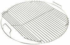"""Weber 18.5"""" Kette Charcoal Grill STAINLESS STEEL Hinged Cooking Grate"""