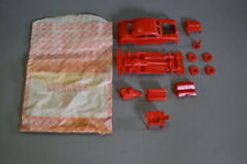Marx Red Take-A-Part Service Station Car ---- Free Shipping !!!!