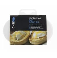 Microwave Oven 2 Egg Poacher Sandwich delicious perfectly poached eggs in 1 min