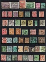 AUSTRALIA PRE-DECIMAL , STATE STAMP COLLECTION MIXED STATES...49 STAMPS