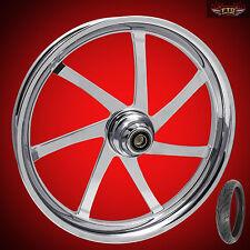 "Harley Davidson Road Glide 21"" inch Custom Front Wheel ""Agitator"" & Avon Tire"