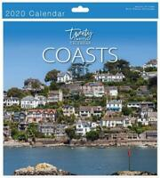 Traditional 2020 Calendar New Year Wall Calender Month View Xmas Gift COASTS
