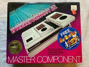 Mattel Intellivision II 2 Console CIB NEW SEALED IN BOX! w/ Burger Time Game WOW