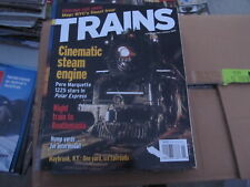 """Vintage """"Trains"""" magazine lot complete/full year 2005"""