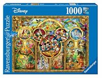 Ravensburger Disney Best Themes Jigsaw Puzzle Mickey Mouse Snow White Donald