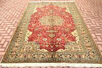 Turkish High Quality Carpet Anatolian Hand Knotted Oushak Wool Area Rug 7x10 ft.
