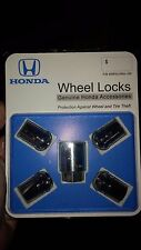 Honda Wheel Lock Set fits Accord, Civic, and more! Genuine Honda Accessory!