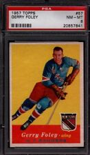 1957 Topps #57 Gerry Foley PSA 8 NM-MT,  Rare,  New Buy It Nows Daily @ 5 PM EDT