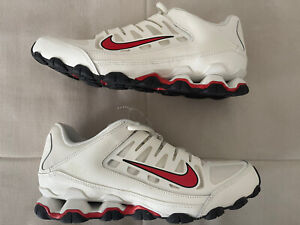 Nike  Reax 8 Training White/red, For Men's Size  8.5 Sneakers, New, No Box