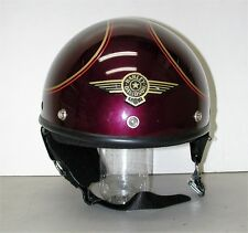 HARLEY-DAVIDSON by Bell 1/2 Motorcycle Helmet SZ: L, DOT Approved