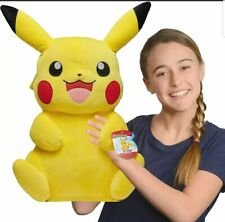"Official 24"" Pokemon Pikachu Super Soft Cuddly Plush Kids Toy 55cm Tall Gift NEW"