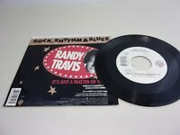 RANDY TRAVIS It's Just A Matter Of Time  45 RPM Record