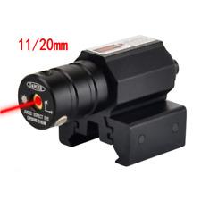 Red Laser Beam Dot Sight Scope Tactical For Gun Pistol Picatinny Mount New