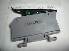 EURO S10-5 FUSE HOLDER / INDICATOR LIGHT CSA  600V
