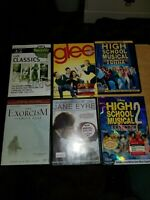 Lot of 11 DVD's 1 TV season and 10 Movies Good Condition