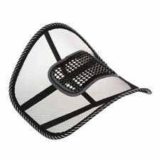 Mesh Back Lumbar Support Massage Beads For Car Seat Chair Massage Cushion Y9M9