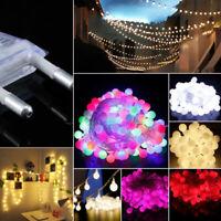 4-10M LED Lichterkette LED Kugeln Außen Partylichterkette Gartenbeleuchtung