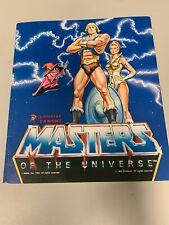 Rare Excellent Master of the Universe He-Man Sticker Book Panini Album Unused