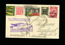 Zeppelin Brazil Sieger 139A 1932 1t South America Flight Brazil Post on Zep Card