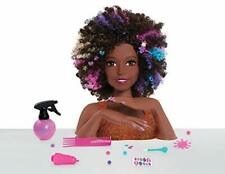 Barbie JPL63345 Sparkle Deluxe Styling Head-Afro Cabello