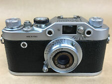 Kristall 53 made by Chinaglia w/ 50/3.5 Krinar, Rare 1950s Italian Leica Camera