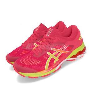 Asics Gel-Kayano 26 Laser Pink Sour Yuzu Women Running Shoe Sneaker 1012A609-700