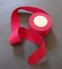 "New listing Spool Vintage Grosgrain Ribbon - 1 3/8"" Wide, Rose Pink / Over 15 Yards"