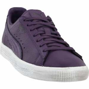 Puma Clyde X Prps Lace Up  Mens  Sneakers Shoes Casual   - Purple