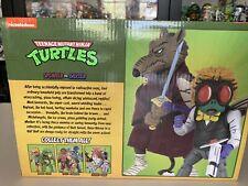 BOX ONLY NO FIGURES TMNT Ninja Turtles NECA Splinter vs Baxter action figure set