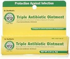 Anti-Infection First Aid ANTIBIOTIC OINTMENT Triple Action, Dr. Sheffield's .33z