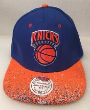 Mitchell & Ness New York Knicks Basketball SnapBack 100% Wool Paint Splatter NBA