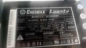 ENERMAX LIBERTYECO  400W ATX POWER SUPPLY