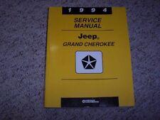 1994 Jeep Grand Cherokee Se Limited Shop Service Repair Manual 4.0L 5.2L V8 4Wd